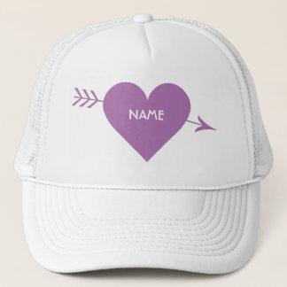 Valentine Heart custom hats