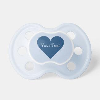 Valentine Heart custom monogram pacifier