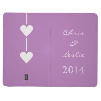 Valentine Heart custom pocket journal