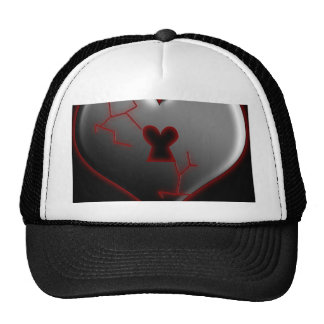 Valentine Heart Trucker Hats