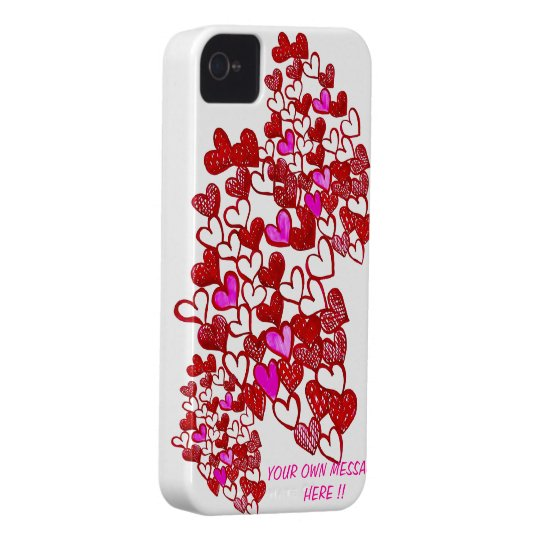 Valentine HeArT IPHONE 4/4s case-Personalise! Case-Mate iPhone 4 Case