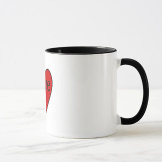Valentine Heart Love Mug