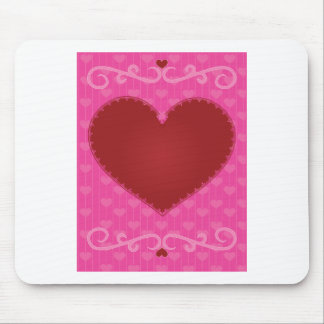 Valentine Heart Mouse Pad