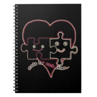 Valentine Heart Notebook