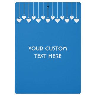 Valentine Hearts custom clipboard