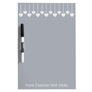 Valentine Hearts custom message board