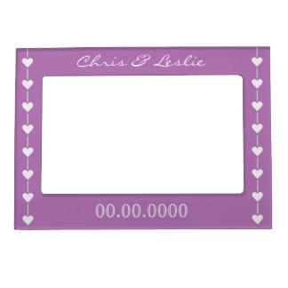 Valentine Hearts custom photo frame