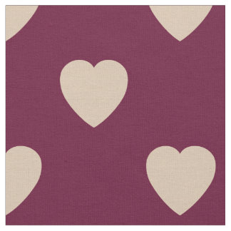 Valentine Hearts Fabric