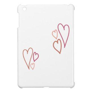 Valentine Hearts iPad Mini Case