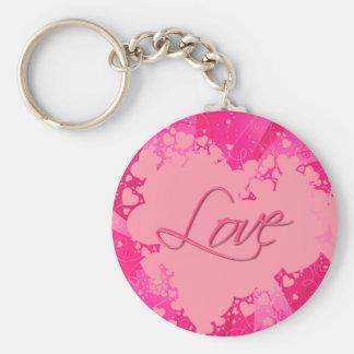 VALENTINE HEARTS & LOVE by SHARON SHARPE Keychains