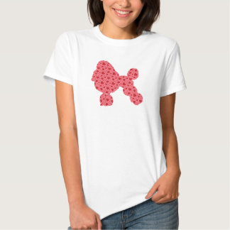 Valentine Hearts Poodle Tee Shirts