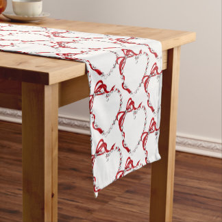 Valentine Hearts Table Runner