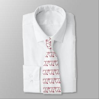 VALENTINE HIT BY CUPID tie