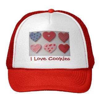 Valentine I Heart Cookies Cap