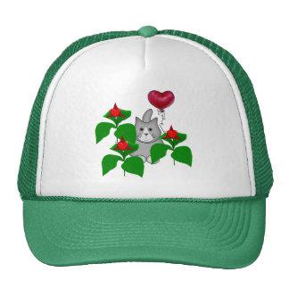 Valentine Kitty Cat Trucker Hat