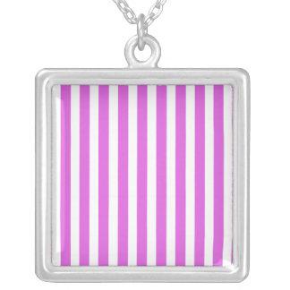 Valentine Lilac and White Stripes Jewelry