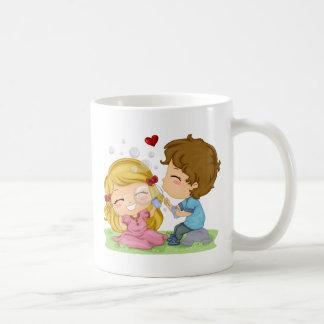 Valentine Lily Bubbles Coffee Mug