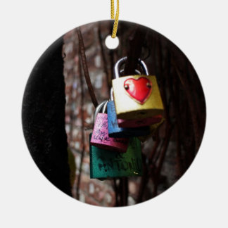 Valentine Locks Christmas Ornament