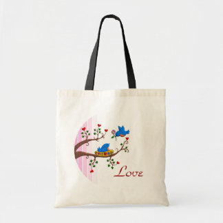 Valentine Love Birds Bag