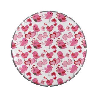 Valentine Love Birds Jelly Belly Tins