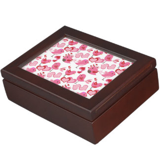 Valentine Love Birds Keepsake Box