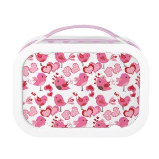 Valentine Love Birds Lunchbox