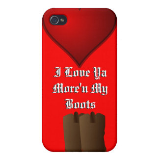 "Valentine, ""Love ya"" Cover For iPhone 4"