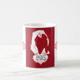 Valentine Mastiff Mug