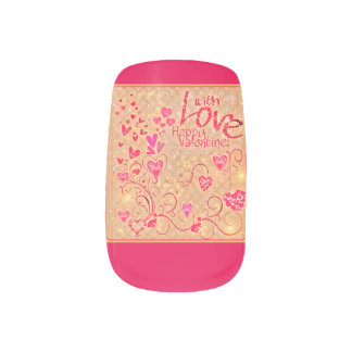 Valentine Nail desing for hand Nail Stickers