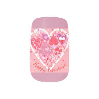 Valentine Nail desing for hand Nail Wraps