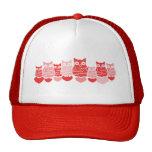 Valentine Owls Trucker Hat
