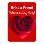 Valentine Party-Bring a Friend!-Red Rose Heart
