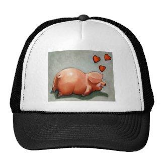 VALENTINE PIGGY: ARTWORK: HEARTS CAP
