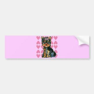 Valentine Poo Bumper Sticker