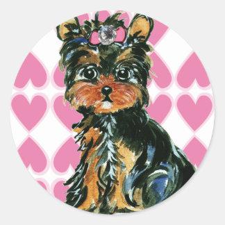 Valentine Poo Sticker