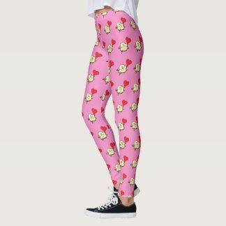 Valentine Popcorn leggings