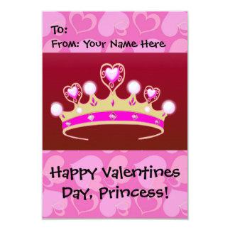 Valentine Princess 9 Cm X 13 Cm Invitation Card