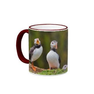 Valentine Puffin Mug
