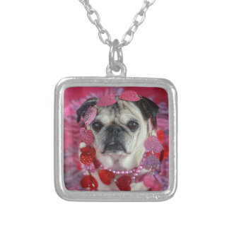 Valentine Pug necklace