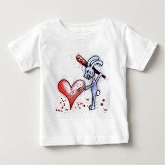 Valentine Rabbit Baby T-Shirt