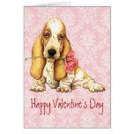 Valentine Rose Basset Cards