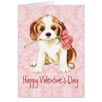 Valentine Rose Cavalier Card