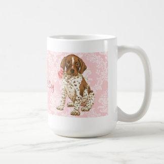 Valentine Rose GSP Coffee Mug