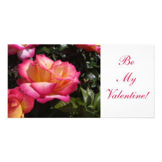 Valentine Rose Photo Cards