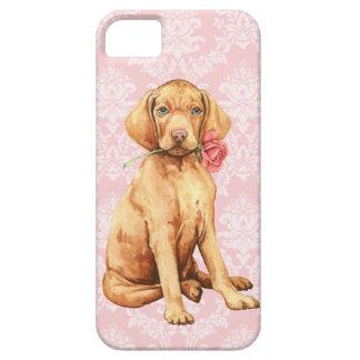 Valentine Rose Vizsla iPhone 5 Case
