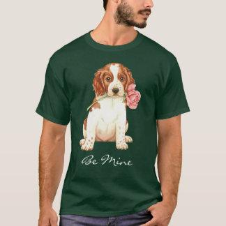 Valentine Rose Welshie T-Shirt