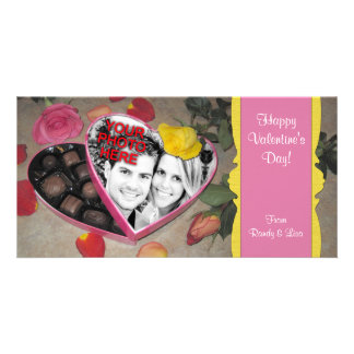 Valentine s Candy Box Frame Template Photo Card Template