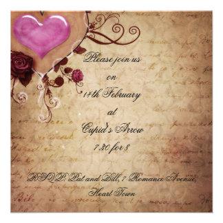Valentine s Day Ball Invitation