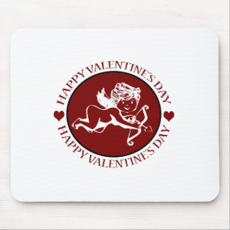 Valentine s Day Cupid Mouse Pads