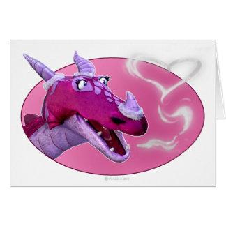 Valentine s Day Dragon Card